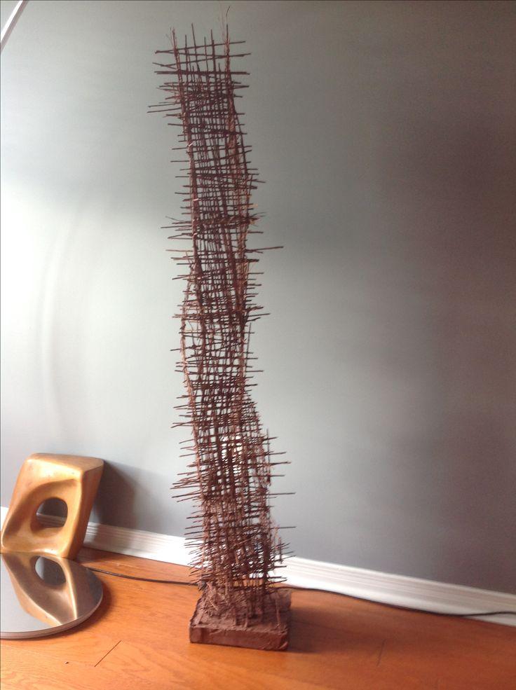 """Sculpture """"pillier no.1""""."""