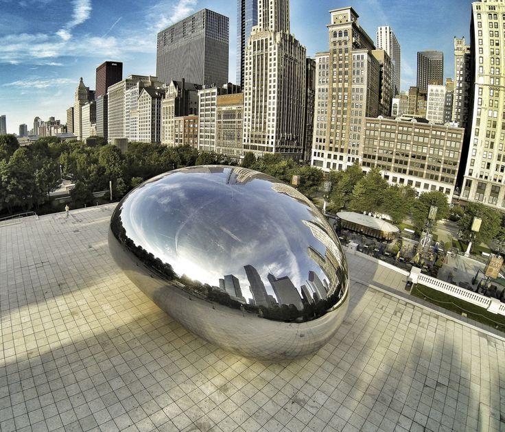 Chicago USA The Bean Kolibik-foto