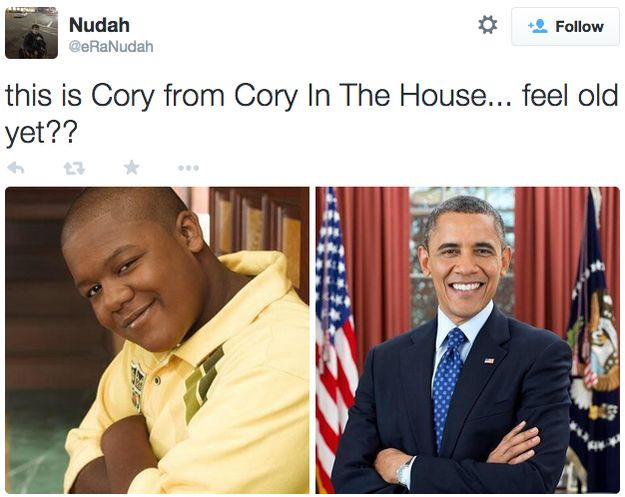 this is cory from Cory in the house.... feel old yet!!