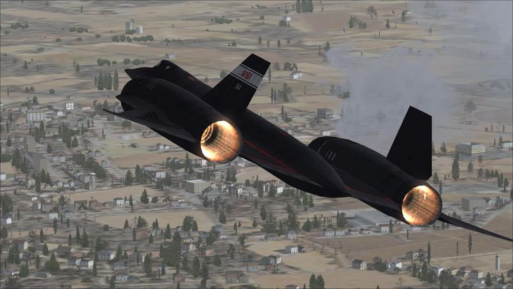 NASA SR-71 Blackbird - This is probably the only view all other jets are able to get.
