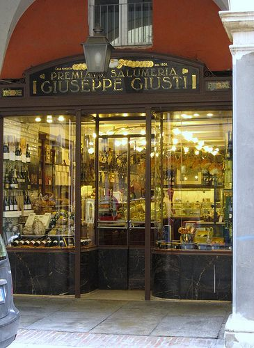 Salumeria Giuseppe Giusti in Modena, Italy, established in 1605, is said to be the world's oldest deli.