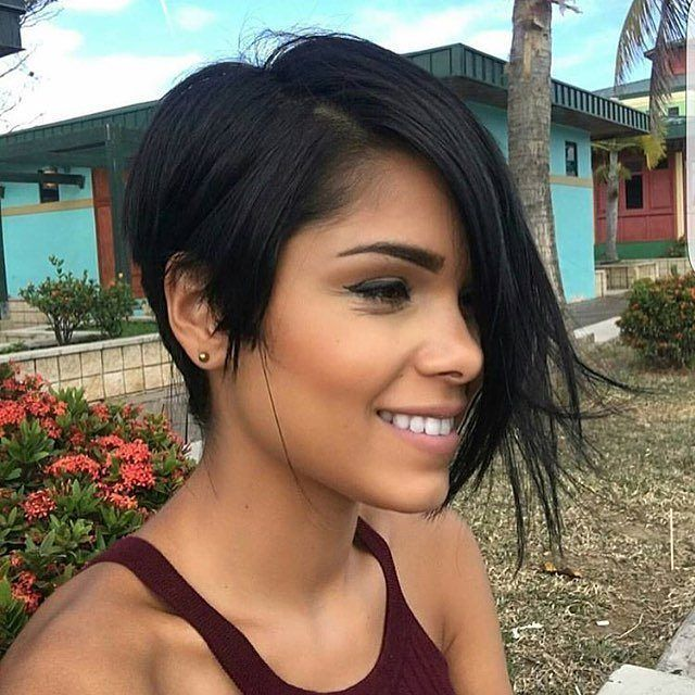 Hairstyles For Short Hair Long : Best 25 short hair long bangs ideas on pinterest long pixie