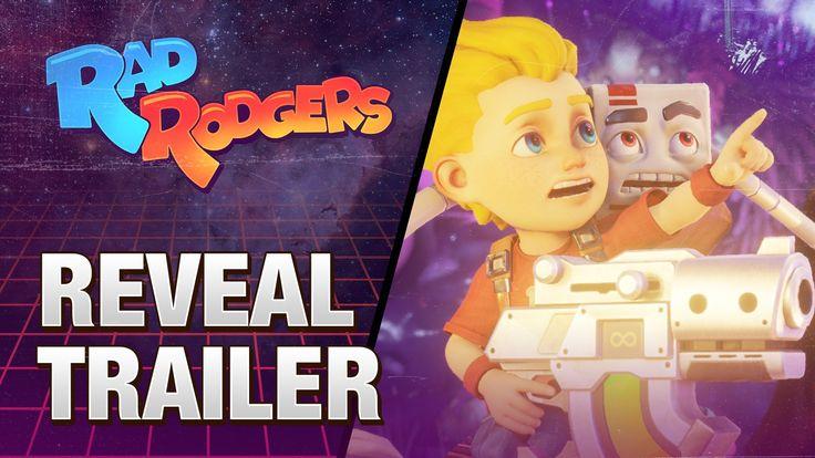 Rad Rodgers - Reveal Trailer (3D Realms/Interceptor Entertainment)