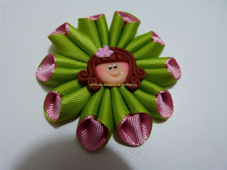 flor cono para el cabello combinada paso a paso video 281