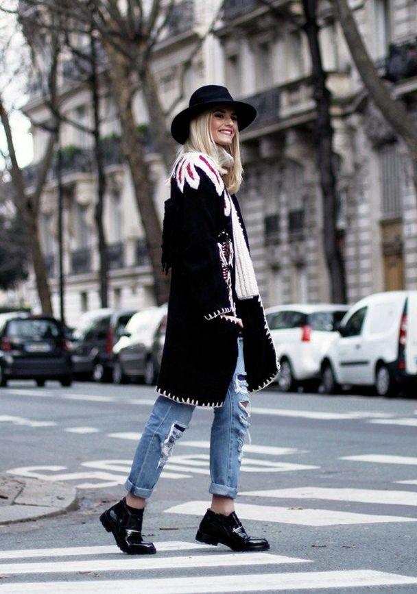 Sim, nesta fase pode investir pelo menos numas calças rasgadas, como Bárbara Inês, do Banging Fashion...