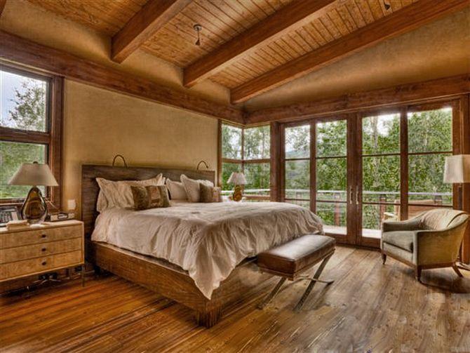 Внутренняя отделка дома из бруса - выбор материалов
