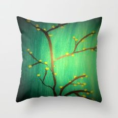 My tree Throw Pillow