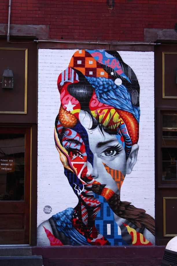 Little Italy, New York City, New York — by Vagrants Of The World. This fantastic piece of street art was on the side wall of an Italian cafe in Little Italy in New York. A surprising...