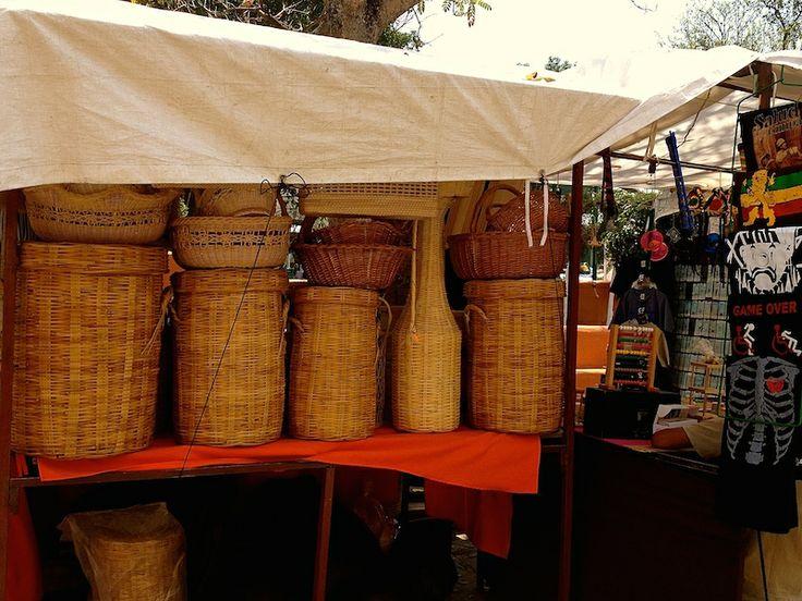 Weekend Market - basketry