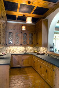Cabinets Of Knotty Alder With Minwax Quot Golden Oak Quot Stain