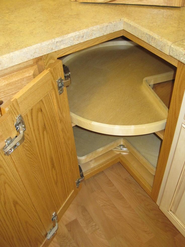 Best Super Susan Cabinet For Corner Storage This Poleless 400 x 300