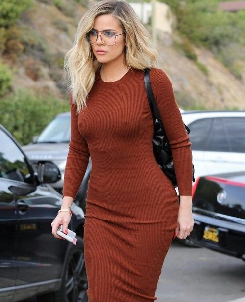 khloe kardashian, fashion, and hair image