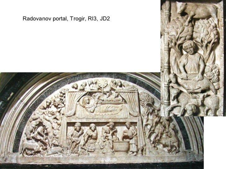 Radovanov portal, crkva sv. Lovre, Trogir, 13., 14. st.
