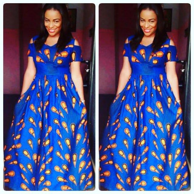African Maxi Dress Styles 2018  85ad0ae23