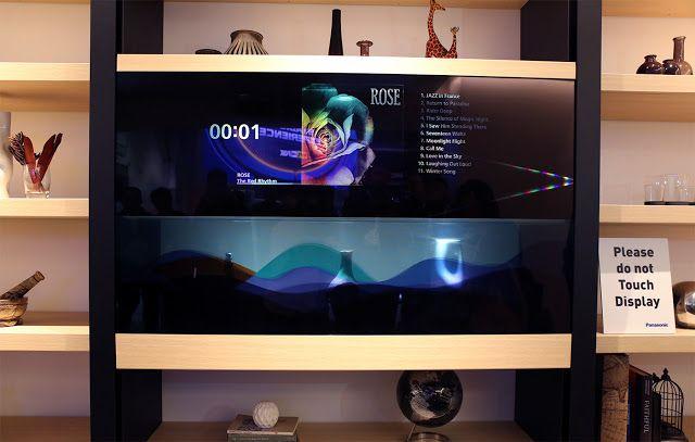 Plantão Digital: Panasonic apresenta a TV do futuro