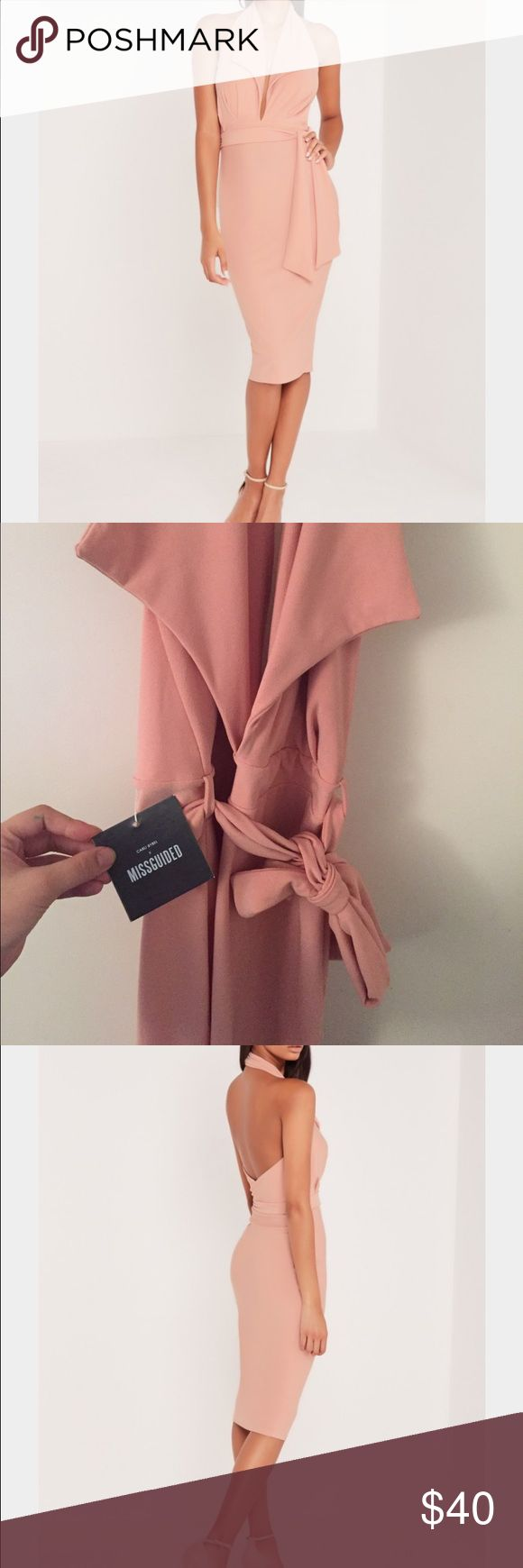 Carli bybel X misguided dress Carli bybel X misguided blazer style dress. Never worn!! Sizes: US 6 UK 10 EU 38 and AUS 10 misguided Dresses
