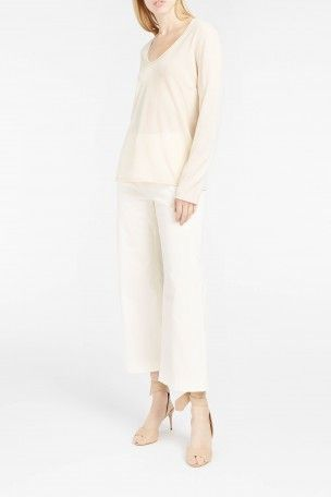 T BY ALEXANDER WANG High-Waisted Culottes. #tbyalexanderwang #cloth #
