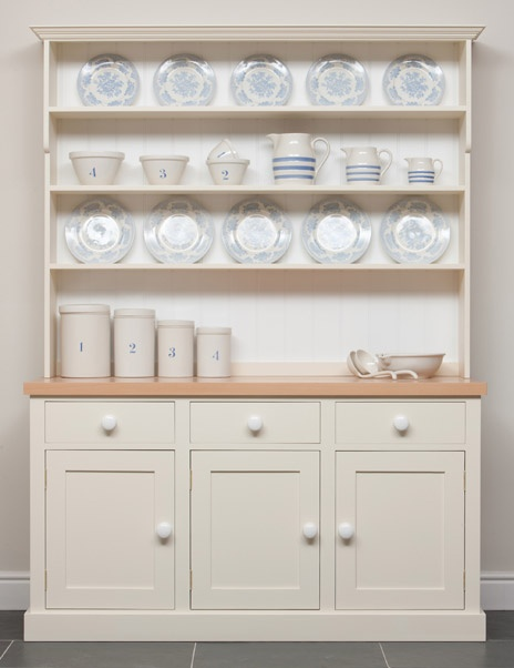 The Wainscot Kitchen Dresser As Original Welsh Would Have Been