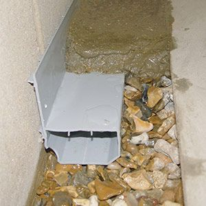 WaterGuard effectively captures wall and floor seepage before it reaches your basement floor. The drainage system transports all ground water to a sump pump, so that it can be pumped outside.