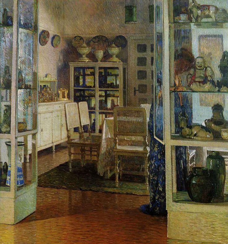 Interior In Dobling Carl Moll 1908, private collection