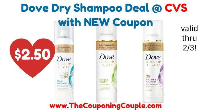LOVING this deal! Dove Dry Shampoo Only $2.50 @ CVS with NEW Coupon!  Click the link below to get all of the details ► http://www.thecouponingcouple.com/dove-dry-shampoo/ #Coupons #Couponing #CouponCommunity  Visit us at http://www.thecouponingcouple.com for more great posts!