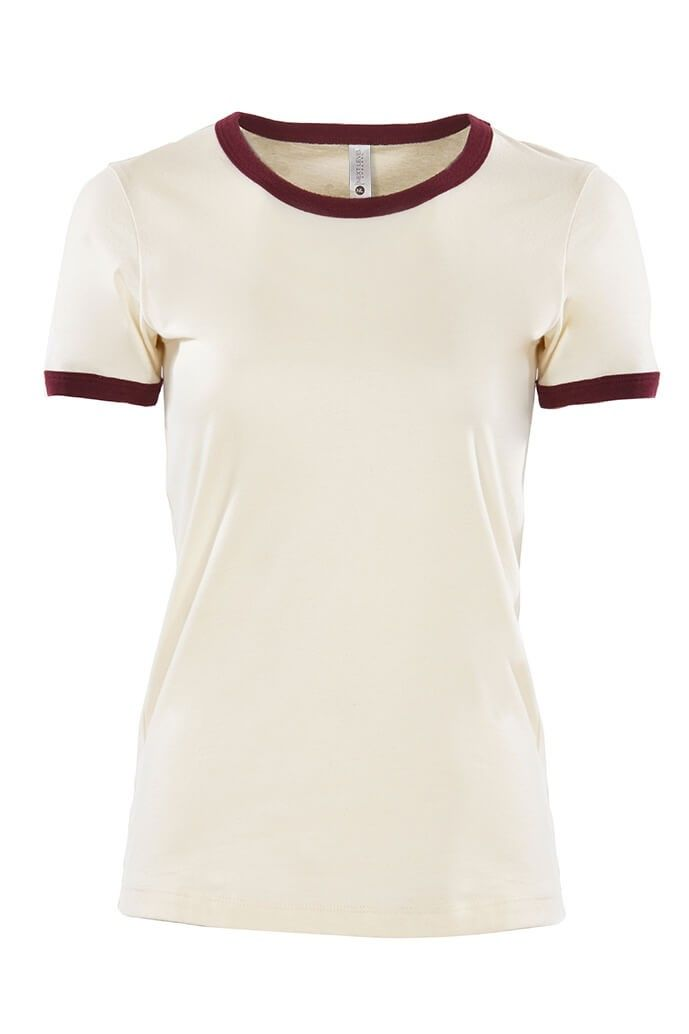 be4c2775ceb WOMEN S COTTON RINGER TEE - WOMENS
