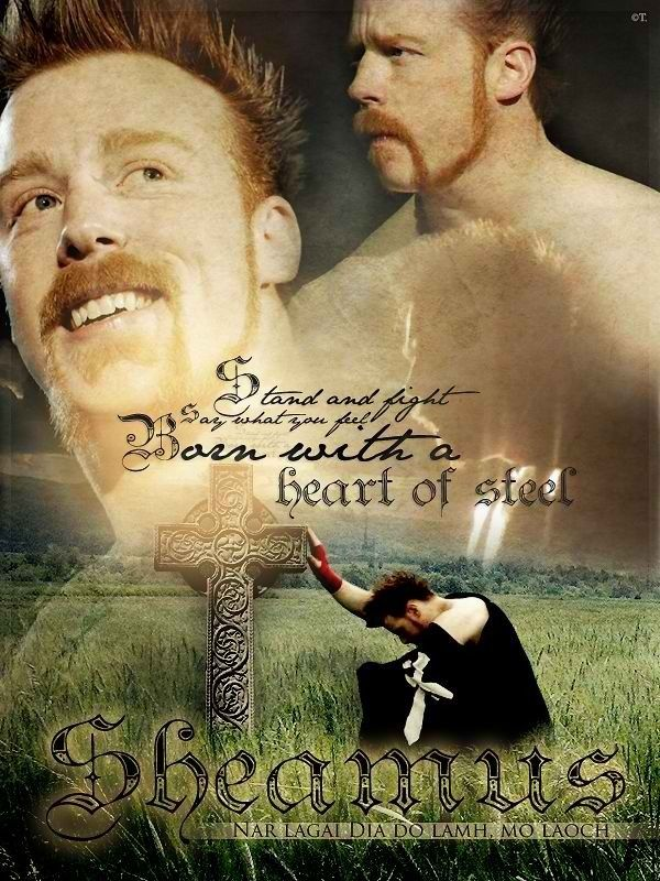 My All Time Fav WWE Wrestler SHEAMUS