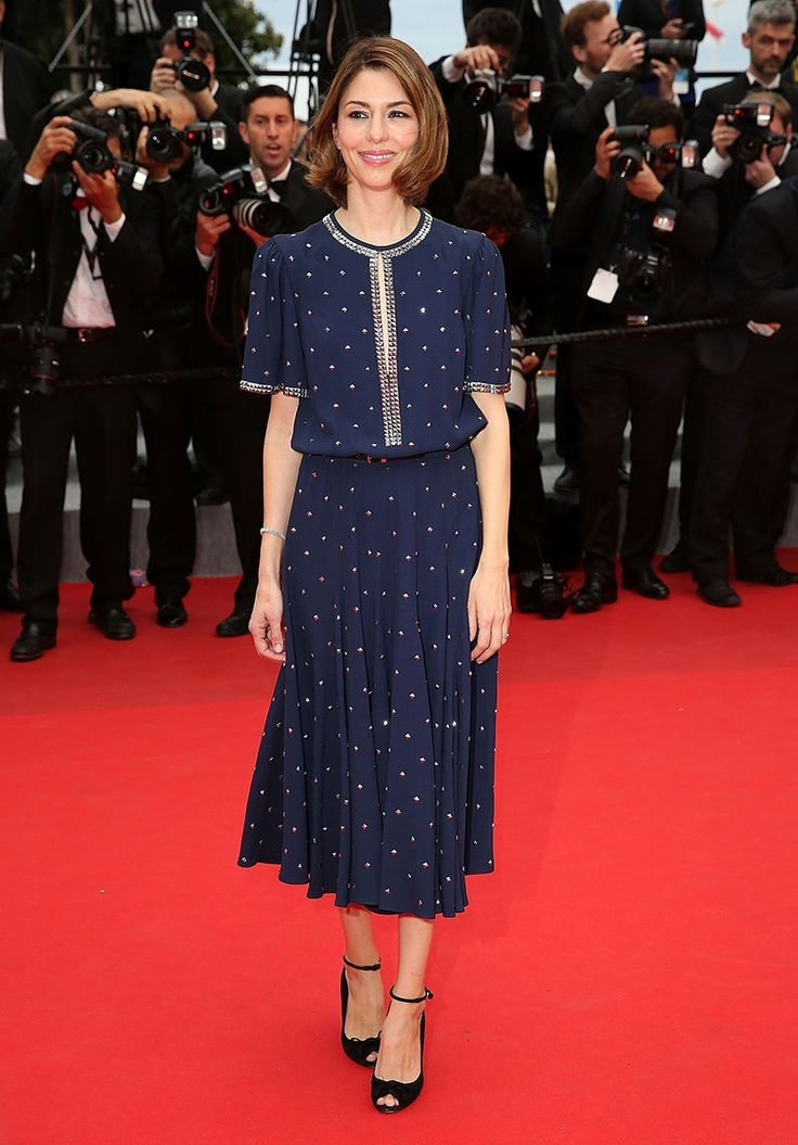 Sofia Coppola in Michael Kors. See more of our favorite looks from the Cannes red carpet on Vogue.com.