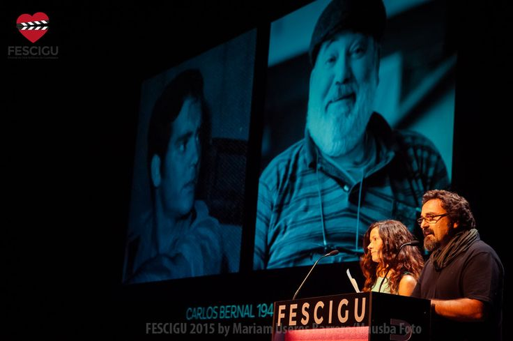 Gala Inaugural del XIII Festival de Cine Solidario de Guadalajara. Homenaje a Carlos Bernal. Fecha: 29/09/2015 Foto: Mariam Useros Barrero/Mausba Foto.