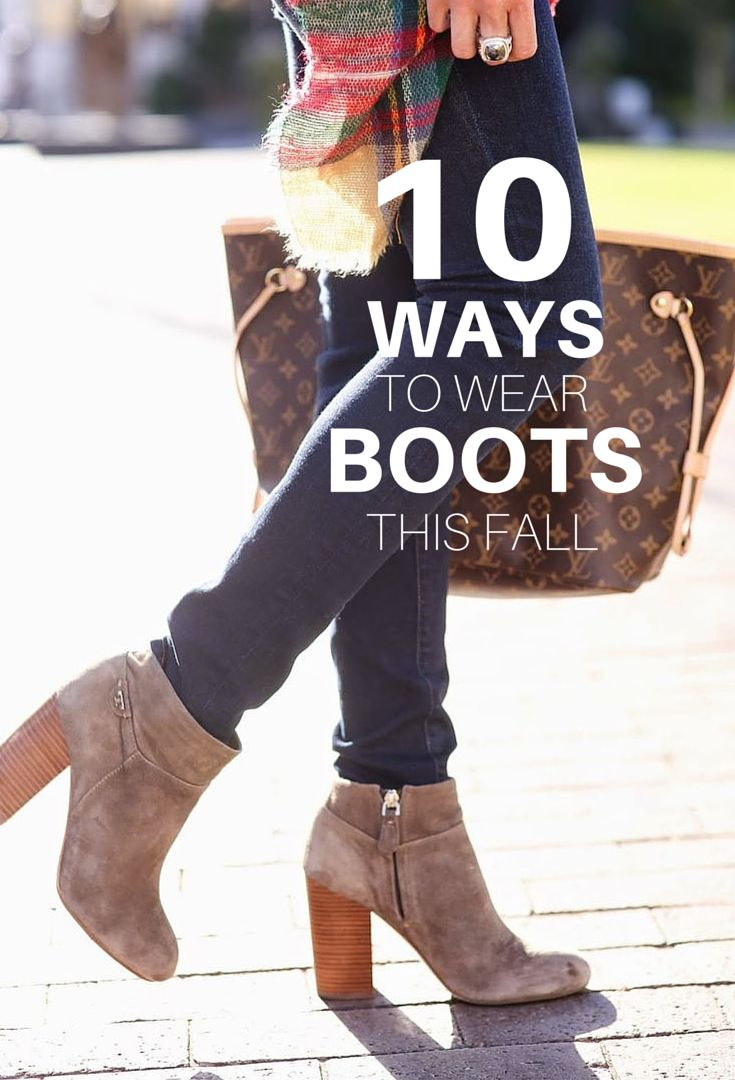 48 best how to style boots images on pinterest | autumn, ankle