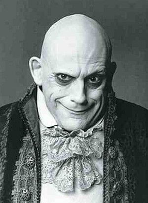 Fester...Ok, its the new Fester but still Uncle Fester. I think Jackie Coogan would approve.
