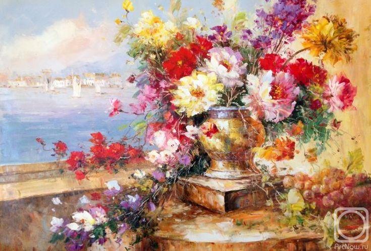 Minaev Sergey. Summer flowers