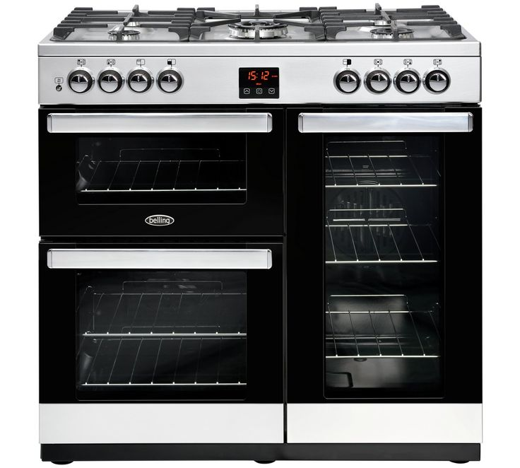 Buy Belling Cookcentre 90DFT Dual Fuel Range Cooker at Argos.co.uk, visit Argos.co.uk to shop online for Range cookers, Cooking, Large kitchen appliances, Home and garden
