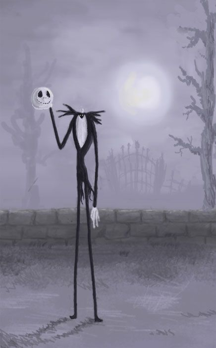 Nightmare Before Christmas concept art