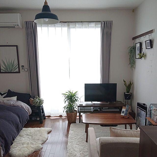お部屋作りのお手本にしたい 6 8畳のレイアウト実例 6畳 インテリア 部屋 レイアウト インテリア