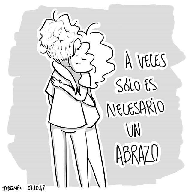 Un Abrazo Dibujos De Abrazos Abrazos Frases Imagenes De Abrazos