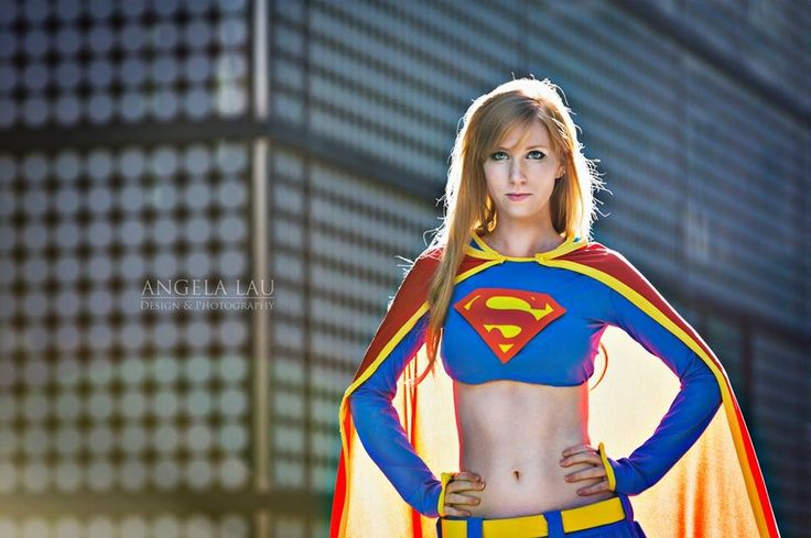 Ashe Rogue as Supergirl in #TheGeekettes fist photoshoot by Angela Lau Design & Photography.
