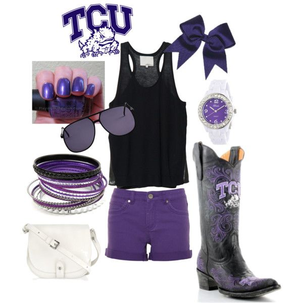 What to do at TCU? More like what to wear at TCU? Saturday is GAMEDAY of course! Now all you need is your #OOTD #tcugameday  Come shop your gameday look at Lauren & Olivia's Boutique
