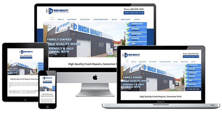 Ivolution Consulting - Adelaide Website Design - High Quality Crash Repairs
