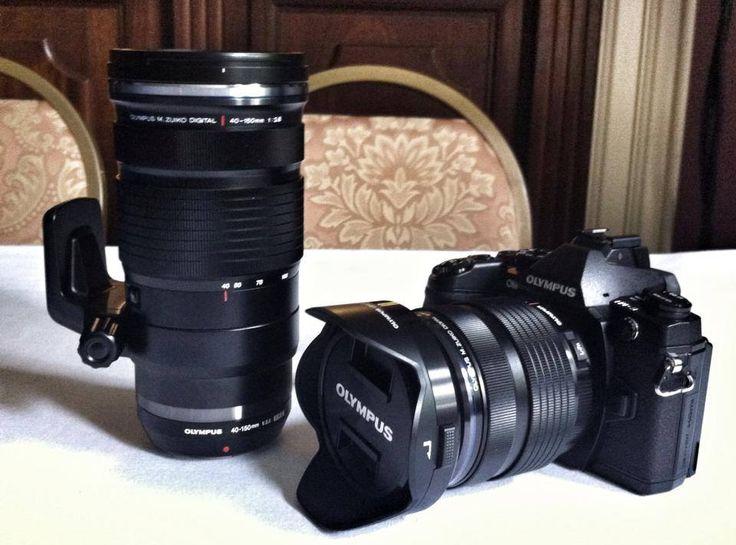 Olympus OM-D E-M1 with Olympus M.Zuiko Digital 12-40mm f/2.8 Pro attached next to Olympus M.Zuiko Digital 40-150mm f/2.8 Pro [43rumors]