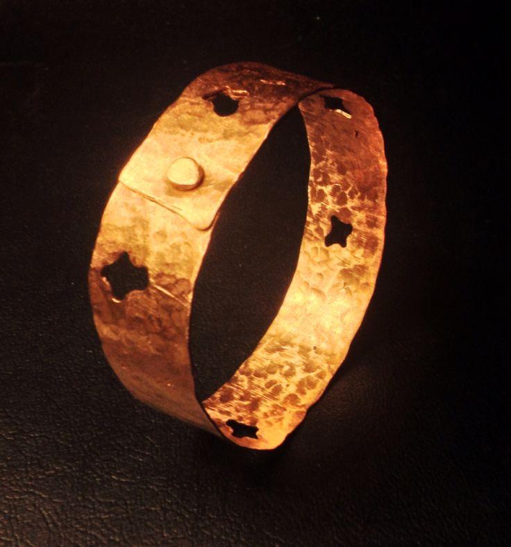 """""""Amoibe (s)"""" band #LME (Scrap copper)"""