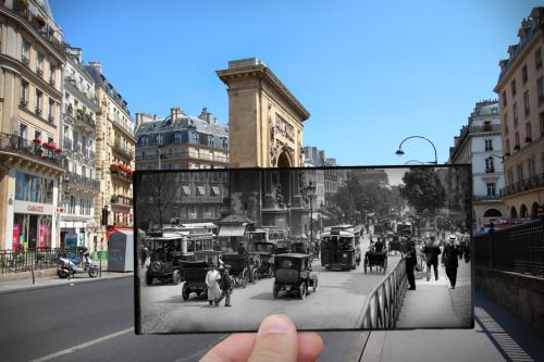 archatlas:    Paris. Fenêtres sur l'Histoire Julien KnezLast year, the editors of Parigramme contacted photographer Julien Knez for a special project. After seeing his work that juxtaposed photographs of Paris' liberation after World War II with what war sites looked like in the present, they commissioned him to do a series on Parisian history, from 1871 to the famous student protests of May 1968. The result is a series that makes readers remember just how much history is stored in the…