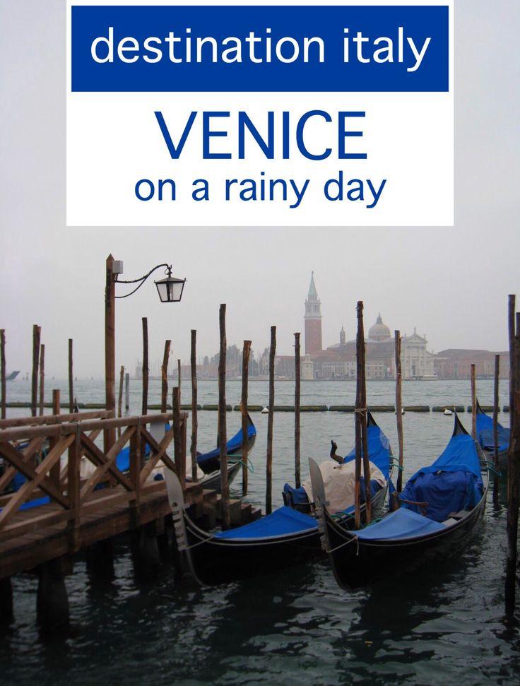 Exploring Italy's Venice on a rainy day...