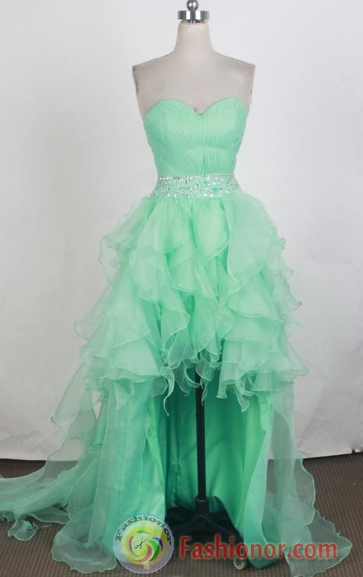 dark aqua hi-low dress | ... Dress LHJ42862,Quinceanera Dresses, Quinceanera Gowns, Sweet 16