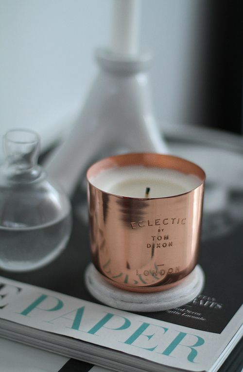 eclectic london tom dixon candle