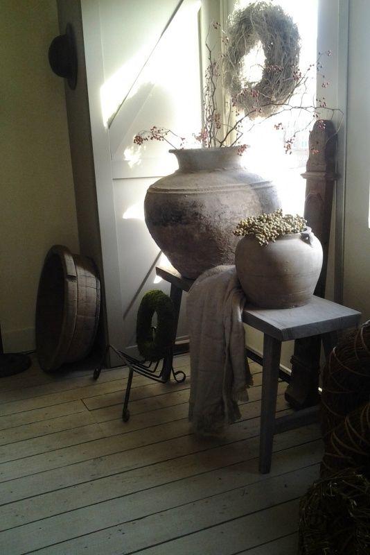 25 beste idee n over oude bankjes op pinterest home depot gordijnen ophangen en raambekleding - Idee schilderij gang ingang ...
