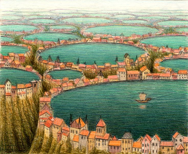 Jacek Yerka painter of the fantasy worlds - preview of the paintings