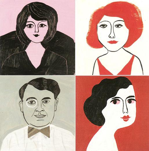 portraits by Ingela P Arrhenius