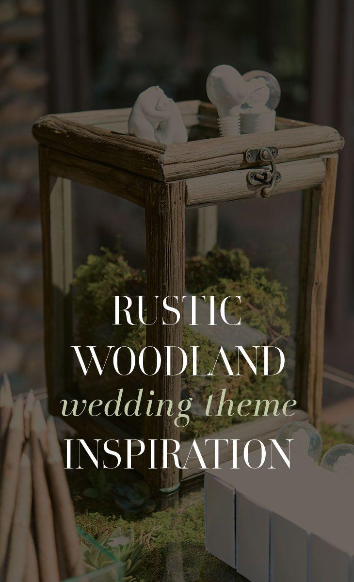 91 best Rustic Woodland Wedding Inspiration images on ...