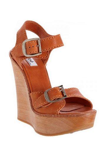 Sandalias de madera de Chlo